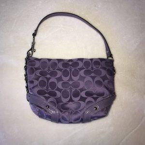 Coach signature mini bag
